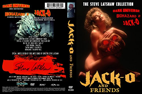 - JACK-O & FRIENDS Signed 1000 Units 2 DVD Set