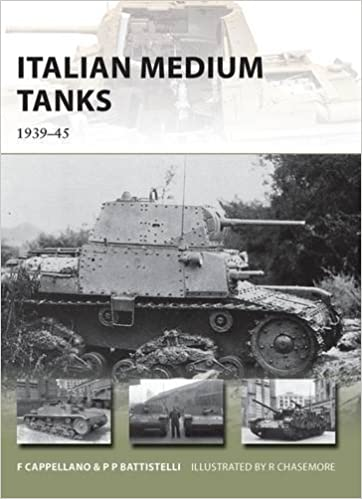 Italian Medium Tanks: 1939-45 (New Vanguard)