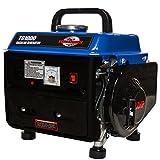 Tomahawk Power TG1000, 1000 Running Watts/800 Starting Watts, Gas...