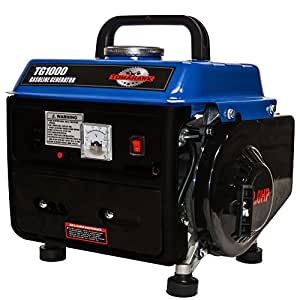 Tomahawk Power TG1000, 1000 Running Watts/800 Starting Watts, Gas Powered Portable Generator