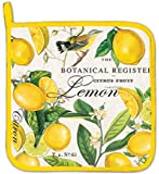 Michel Design Works Cotton Potholder, Lemon Basil