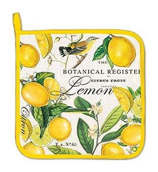 Michel Design Works Cotton Potholder Lemon Basil