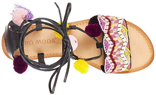clearance visa payment discount shopping online Vero Moda Women's Vmlia Leather Gladiator Sandals Black (Black Black) looking for sale online YNDomDf