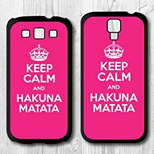 Keep Calm And Protective Cover Case For Samsung Galaxy S4 S3 new, retail package, never open Kimberly Kurzendoerfer