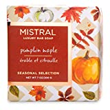 Mistral Seasonal Collection 7 oz Square Bar Soap Pumpkin Maple Scent by Mistral