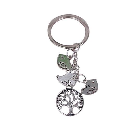 Amazon.com: Árbol árbol de familia de Keychain, keychain ...