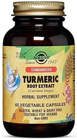 Solgar Standardized Turmeric Root Extract, 60 Vegetable Capsules