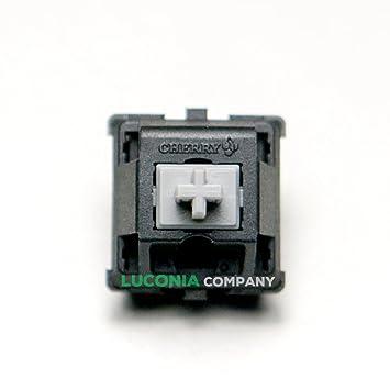 Carcasas auténtico Rare gris Cherry MX Series Keyswitches - interruptores mecánica teclados de repuesto: Amazon.es: Electrónica