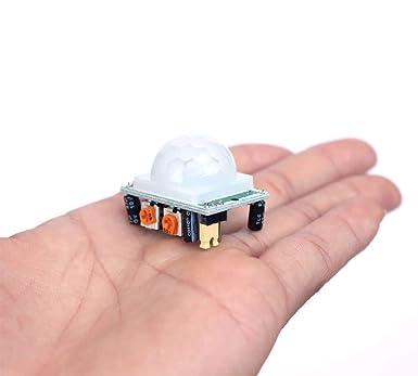 HC-SR501 PIR Infrared Sensor Human Body Infrared Motion Module para Arduino Raspberry Pi Yizhet 3pcs M/ódulo Sensor