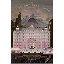 Living Room 27X40cm s Grand Budapest Hotel Bedroom Wall Decorative Poster
