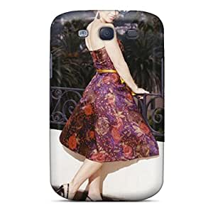 High Grade Kristhnson Flexible Tpu Case For Galaxy S3 - Jessica Biel