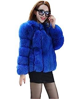 YR.Lover Womens 100/% Ostrich Fur Vests Sleeveless Fur Coat