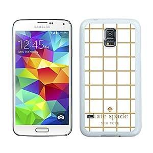 NEW DIY Customized Kate Spade Samsung Galaxy S5 I9600 White Phone Case 039