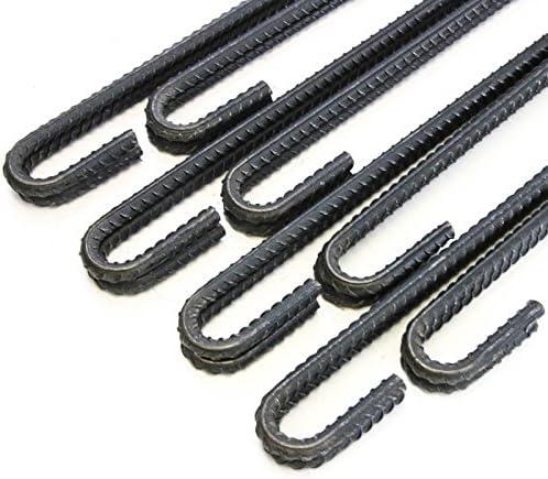 Steel Rebar Ground Stakes Heavy