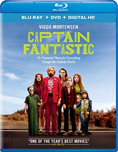 Blu-ray : Captain Fantastic (With DVD, Ultraviolet Digital Copy, 2 Pack, Snap Case, Slipsleeve Packaging)