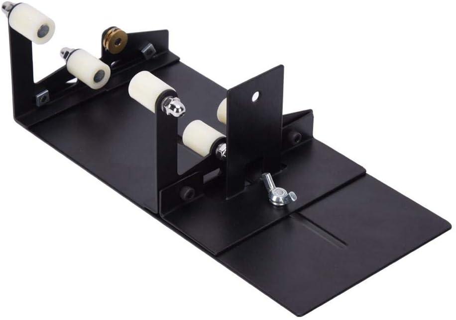 Dpofirs Glasflaschenschneider Werkzeugset zum Schneiden von rostfreiem Eisen mit 3 Schneidr/ädern f/ür runde quadratische Flaschenschneidemaschinen (Upgrade-Version)