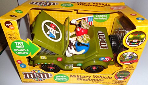 M&M's Military Vehicle Candy Dispenser Jeep