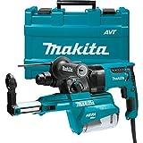 "Makita HR2651 1"" AVT Rotary Hammer, Accepts Sds-Plus Bits, w/Hepa Dust Extractor (Pistol-Grip)"