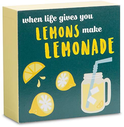 Pavilion - When Life Gives You Lemons Make Lemonade 4 x 4 Mini Plaque