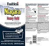 Heavy Starch Spray (20 oz, 12-Pack) - Niagara Heavy Hold Liquid Starch: Iron Aid Spray Pack for Clothes & Fabrics
