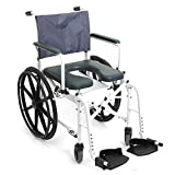 "Mariner Rehab Shower Commode Chair - 18"" Seat"