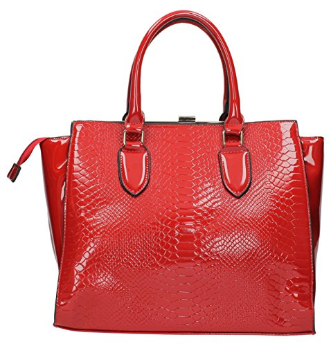 Swankyswans, Borsa tote donna Rosso rosso