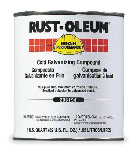 Cold Galvanizing Compound, Gray, 1 qt.