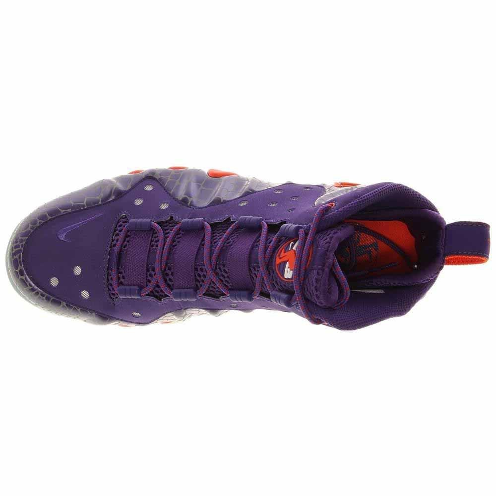 new concept 8e26f 272ad Amazon.com   Nike Barkley Posite Max 555097 581 Mens Basketball Trainers  Sneakers Court Purple Team Orange Phoenix Suns Colour Way   Basketball