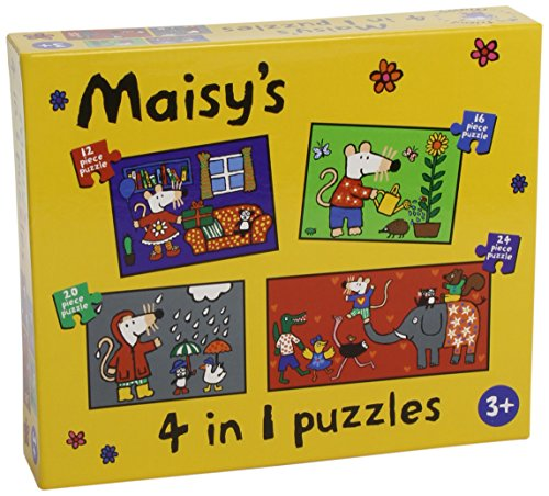 Maisys Maisy 4 in 1 Jigsaw Puzzles by PL