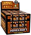 Series 4 Red Minecraft Minifigures Case Set of 36 Mini Figures in Blind Boxes Alex Steve Creeper Horse Ghost Dog Bunny Spider Sheep Cat Zombie Duck Villager Bats Gold from Mattel