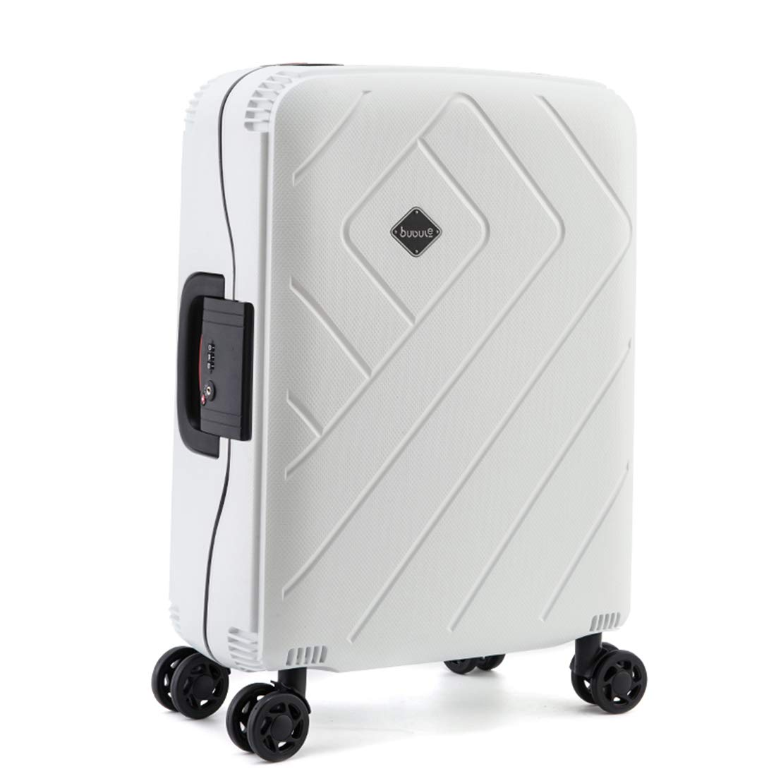 荷物ビジネス TSA スーツケース軽量 PP ストライプトロリーケース 20in 2 B07J6HNNQC