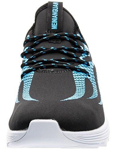 Lacets Joomra De Bleu 1702 Sport Homme Baskets À Running Chaussures 1waZ1