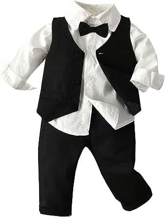 Geilisungren 3pcs Ropa Bebe niño Conjuntos Camisas de ...
