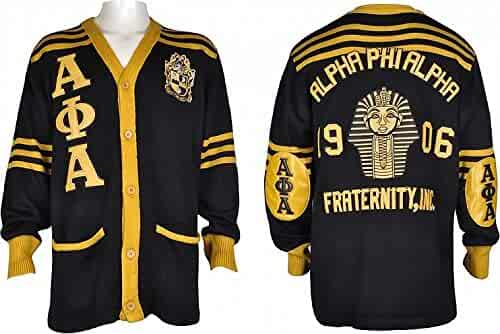 067ec0b86789 Cultural Exchange Buffalo Dallas Alpha Phi Alpha Fraternity Mens Cardigan  Sweater
