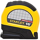 "Stanley STHT30812 Lever Lock Tape Rule, 16' x 3/4"""