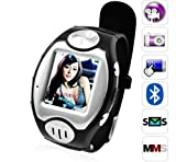 MW09 Watch Cell Phone ~ unlocked~ Quad-band + Free 4GB card+Free Bluetooth headset Picture