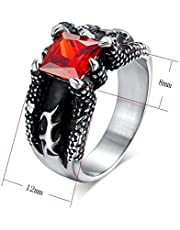 خاتم فاشن تيتانيوم للرجال