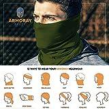 ARMORAY Headwear Head Wrap Neck Gaiter Headband