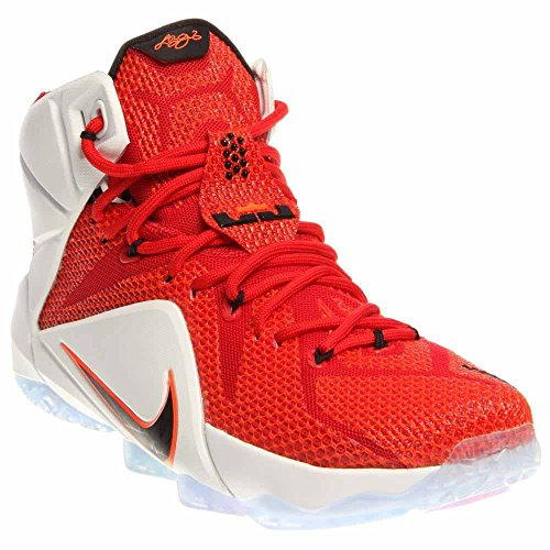 219152820f9 Nike Lebron XII 12 Heart of a Lion Men s Basketball Shoes 684593-601 (13)  Red - Buy Online in Oman.