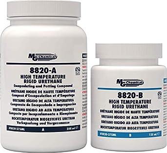 8820 High Temperature Rigid Urethane 375mL Kit: Amazon com