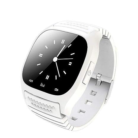 M26 Life Impermeable Smartwatch Bluetooth Reloj Inteligente Reproductor de música Podómetro Deportivo para iOS para teléfono Inteligente Android