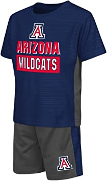 Colosseum Toddler Oklahoma State Cowboys Pinstripe Tee Shirt and Shorts Set