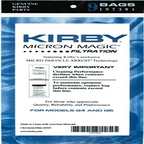 Kirby Micron Magic Bag, 197394 (9 ()