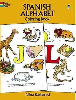 Spanish Alphabet Coloring Book Dover Childrens Bilingual