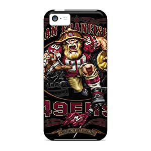 New Arrival Covers Cases With Nice Design For Iphone 5c- San Francisco 49ers