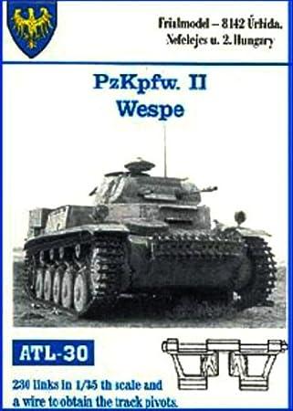 Friulmodel ATL30 1/35 Metal Track for Pz II & Wespe by