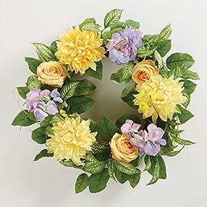 BrylaneHome Emery Wreath 1