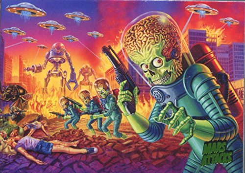 Mars Attacks Invasion Complete 95 Card Base -