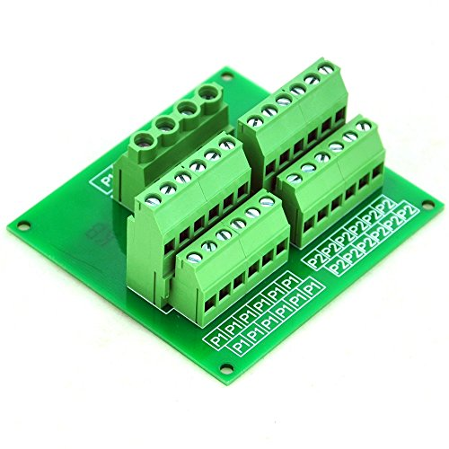Electronics-Salon Panel Mount 12 Position Power Distribution Module Board.