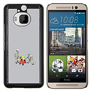 LECELL--Funda protectora / Cubierta / Piel For HTC One M9Plus M9+ M9 Plus -- Divertido Conductor Borracho --